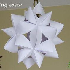 origami lamp shade
