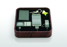 """Bluelounge """"The Sanctuary"""" Charger & Organizer"""