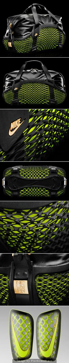 Sportswear company Nike has designed a 3D-printed sports bag for players taking part in the FIFA World Cup 2014, kicking off next week in Br...