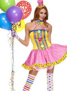 Sexy Clown Costume For Halloween | Seasonal Holiday Guide