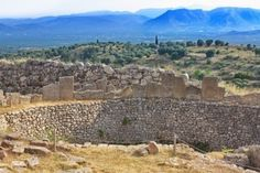Tomb of Aegisthus - lover of Queen Clytemnestra, wife of Agamemnon - in Mycenae