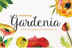 Günün Ücretsiz Fontu: Gardenia