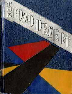 1929 Desert, University of Arizona Yearbook