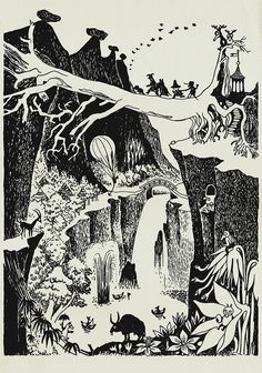 Peter - Favourite Moomin illustrations by Tove Jansson. Tove Jansson, Art And Illustration, Les Moomins, Illustrators, Fantasy Art, Fairy Tales, Art Drawings, Artsy, Sketches