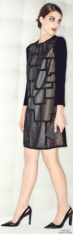 Escada Pre-Fall 2015 Like the straight fit of this. Not the color