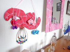 DIY vešiak na náušnice (FOTOPOSTUP) / LOVELYart » SAShE.sk - slovenský handmade dizajn