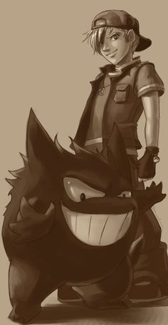 If I had to have one of any Pokemon... It would be Gengar. We would look like this.