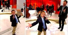 This five-year-old sang a chilling gospel song on the TV show, Harry, and instantly blew everyone way!