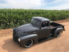 Black Ridlers look awesome on here. Matches the running board and the grill. Call or TEXT me for your next set. RideRidler.com 662.213.7184 55 Chevy Truck, C10 Trucks, Classic Chevy Trucks, Hot Rod Trucks, Jeep Truck, Vintage Pickup Trucks, Antique Trucks, Chevy Stepside, Chevy Pickups