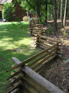snake rail fence | Found on americantimberandsteel.com