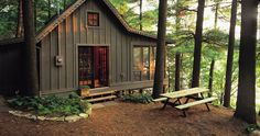 This one may be a Bucket List item for me ... cabin in the woods (no bears, please)