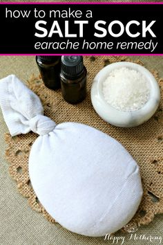 Are you searching for an ear ache home remedy that works? Our Salt Sock Earache Remedy works amazingly well.