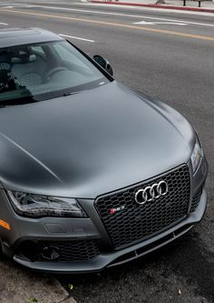 Matte grey Audi RS7 by Nathan Craig