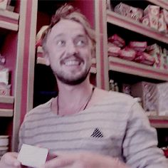 Tom Felton's wizarding tour of 'Harry Potter' world gif