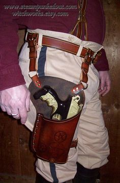 I kind of have a desire to dress like Han Solo just some random Wednesday. I must have this holster!