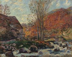 Armand Guillaumin - Moulin Brigand 1893