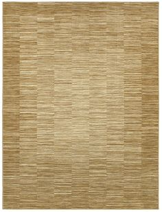 """area rug by Shaw Floors in the HGTV collection style """"Cadiz"""" color Gold..  color gradiates in shades of neutral gold"""