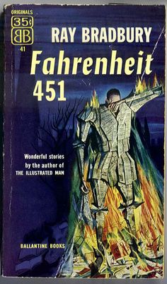 commentary on fahrenheit 451 by ray bradbury essay The students refused to listen to the explanation of what he – the author  the  author of fahrenheit 451, ray bradbury, who got miffed more than once  so, if  the main theme is not censorship, what is fahrenheit 451 about.