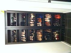 "Ikea bookshelves = my shoe wardrobe, ie my ""investment portfolio."""