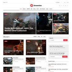 Streamline - Video Streamer Responsive WordPress Theme #62037 (scheduled via http://www.tailwindapp.com?utm_source=pinterest&utm_medium=twpin)