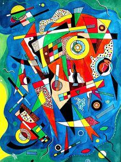 by Wassily Kandinsky, 1939                                                                                                                                                                                 Más
