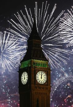 The New Year Is Celebrated In London