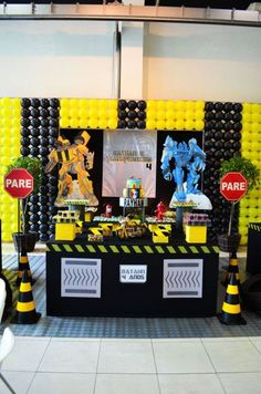 Transformers Birthday Party Favor Treats Bags Bolsas
