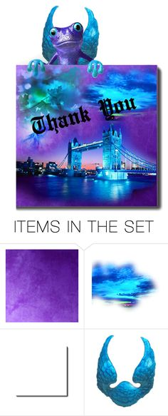 """A long overdue Thank you!"" by sue-wilson1967 ❤ liked on Polyvore featuring art"