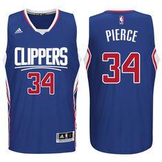 Clippers New Logo Paul Pierce Blue Jersey Chris Paul Jersey c47ba2e4e810