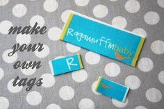 make your own tags!  @Elle Dyan, you gotta design some for me!