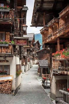Val D'anniviers (Suiza)
