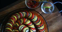 ピクサー映画「レミーのおいしいレストラン」のラタトゥイユを再現!!煮込むタイプのラタトゥイユとは違う濃厚な夏野菜の旨み♬