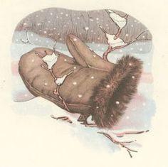 το Μαγικό Γάντι,παραδοσιακό ουκρανικό παραμύθι(υλικό και δραστηριότητες) Mittens, Teddy Bear, Crafts, Animals, Winter, Kindergarten, Craft Ideas, Education, Children