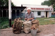 Somewhere near Kiev in the Ukraine. 1989
