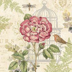 Pamela Gladding - RB7614PG  Floral Nature Trail IV  12x12