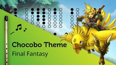Chocobo Theme (Final Fantasy) on Tin Whistle D + tabs tutorial Tin Whistle, Cursed Child Book, Final Fantasy, Flute, Finals, Mandolin, Songs, Housewife, Hacks