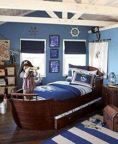 Sailor kid bedroom !