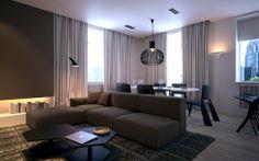 Фото — Klovsky descent — Design of apartments