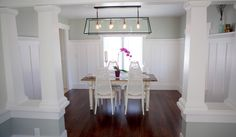 Dining Room Craftsman Style House