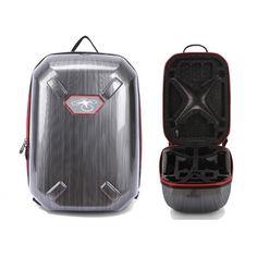 Drawing Process Hardshell Bag Backpack Waterproof Shoulder Carry Case For DJI Phantom 3 Rc Quadcopter