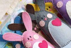 Lavoretti di Pasqua con il pannolenci - Pasqua fai da te con il pannolenci