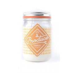 Sweet Potato Perfume Candle - Produce candles - Blanche et Léontine