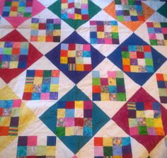 My most recent scrappy quilt