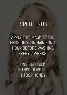 The best way to get rid of split ends without cutting your hair