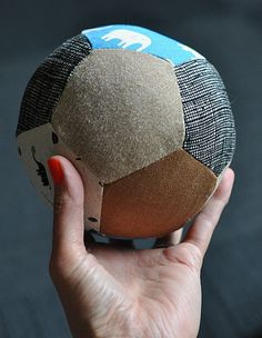 Create one-of-a-kind pentagon fabric balls using your favorite fabrics with this tutorial by And Other Silly Things. -Sewtorial