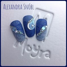 #moyrastamping #miniseries #hotsummer #seaside #blue #bluenails #blingbling #moyra #newarrival #alexandrasnobl #alexanailshop