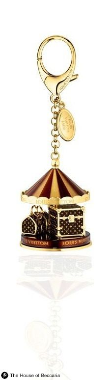 ~Louis Vuitton's Carousel Keychain | The House of Beccaria#