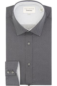Ted's iconic collection combines quality fabrics and hidden detailing, with timeless traditions and modern designs. This Ted Baker formal shirt is made from cotton, team with a stylish Ted Baker suit and tie to stand out from the crowd. Formal Suits, Formal Wear, Ted Baker Suits, Moss Bros, Formal Fashion, Suit Shop, Suit And Tie, Mens Suits, Crowd