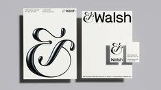 Our Branding &Walsh Sagmeister And Walsh, Stefan Sagmeister, Identity Design, Visual Identity, Brand Identity, Logo Design, Type Design, Print Design, Corporate Design