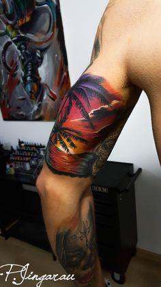 palmier tattoo